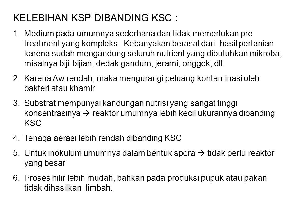 KELEBIHAN KSP DIBANDING KSC :