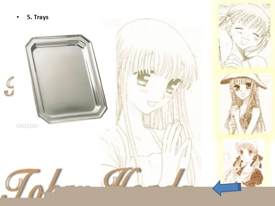 5. Trays