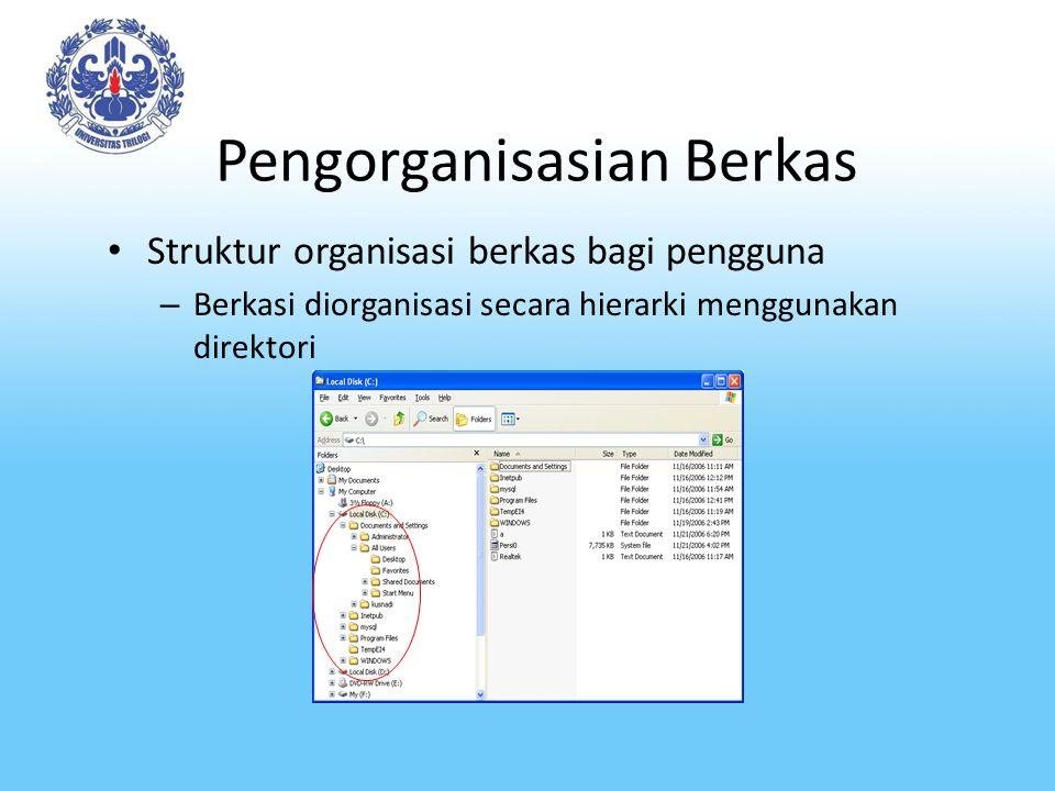 Pengorganisasian Berkas