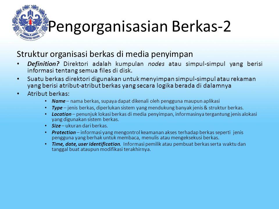 Pengorganisasian Berkas-2