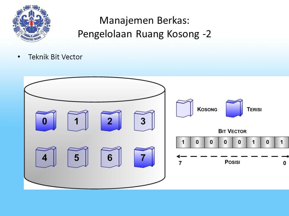 Manajemen Berkas: Pengelolaan Ruang Kosong -2