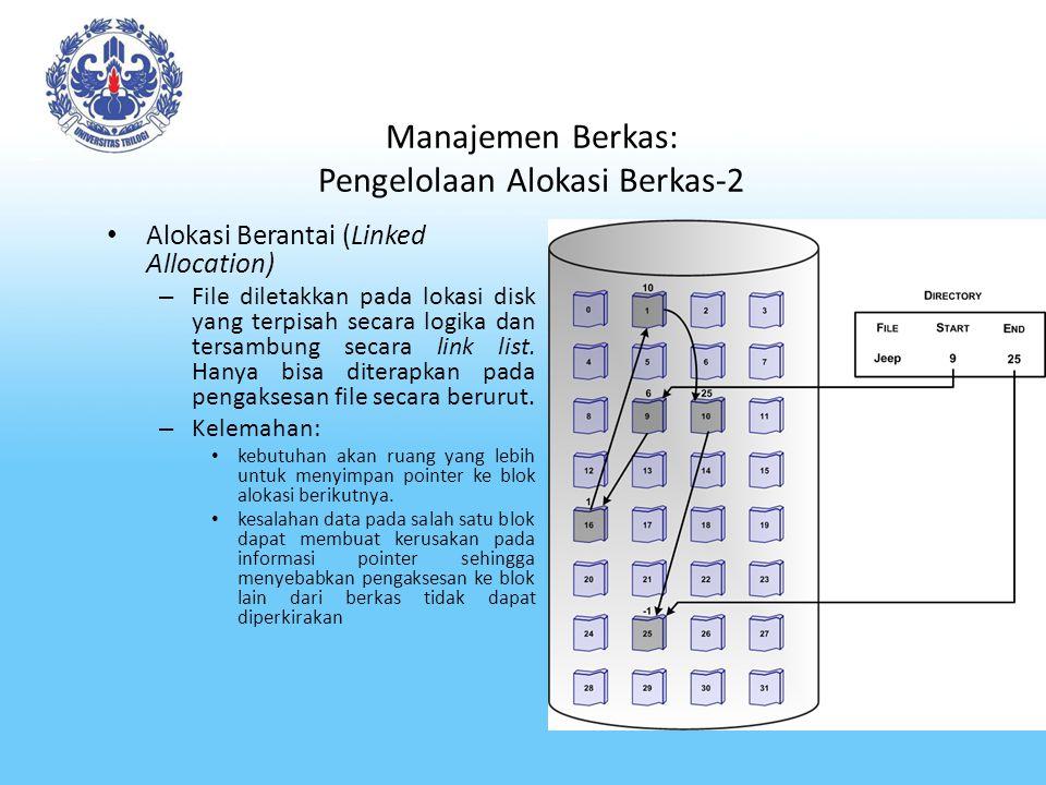 Manajemen Berkas: Pengelolaan Alokasi Berkas-2