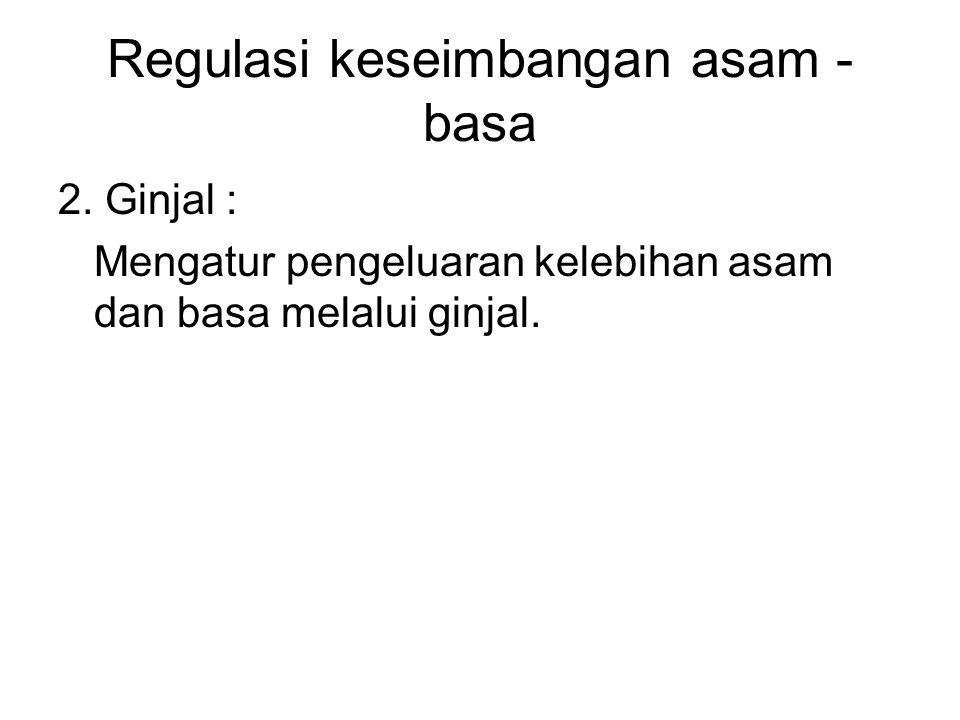 Regulasi keseimbangan asam - basa