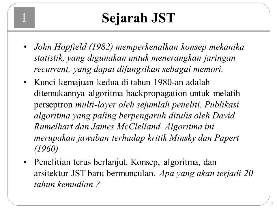 Sejarah JST