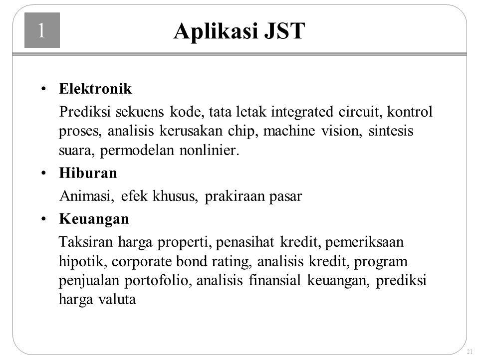 Aplikasi JST Elektronik
