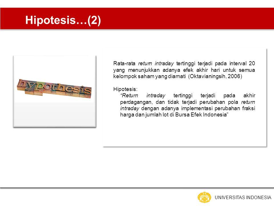 Hipotesis…(2)
