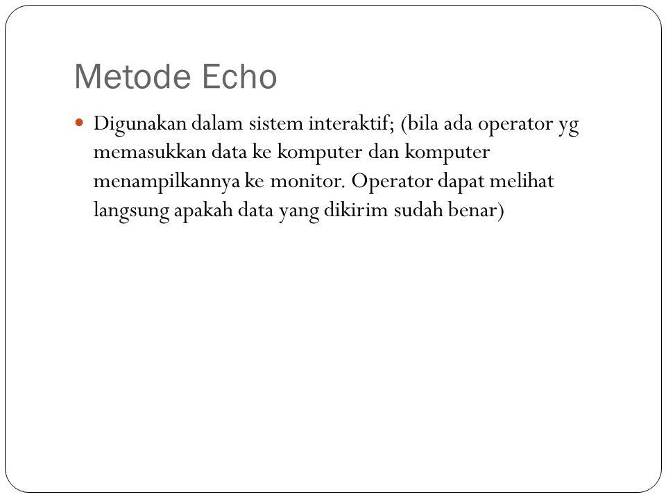 Metode Echo