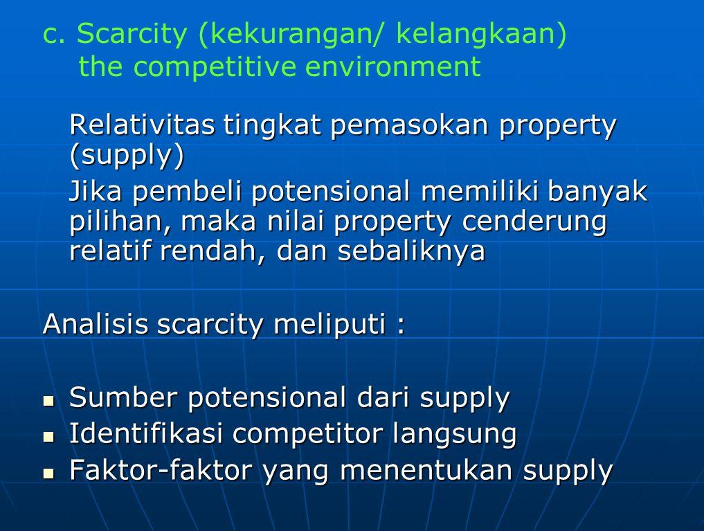 d. Transferability (perpindahan/ perantara)