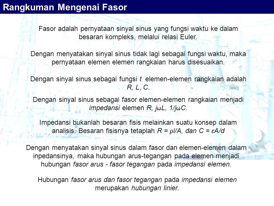 Rangkuman Mengenai Fasor