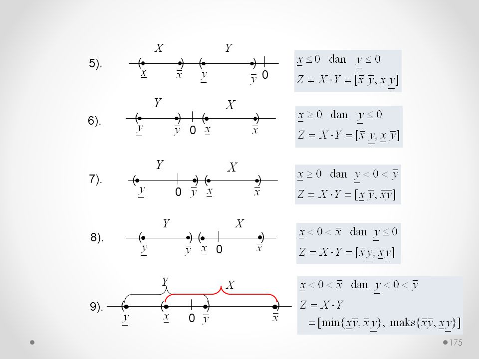 5). ( ) x X Y 6). ( ) Y X 7). ( ) Y X ( ) Y X 8). 9). ( ) Y X