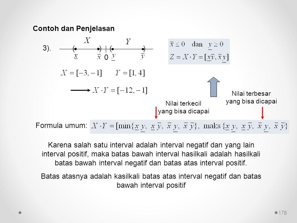 X Y Contoh dan Penjelasan 3). ( ) x Formula umum: