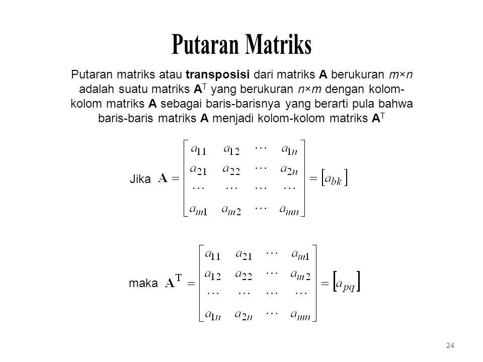 Putaran Matriks