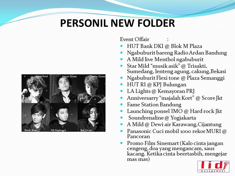 PERSONIL NEW FOLDER Event Offair : HUT Bank DKI @ Blok M Plaza