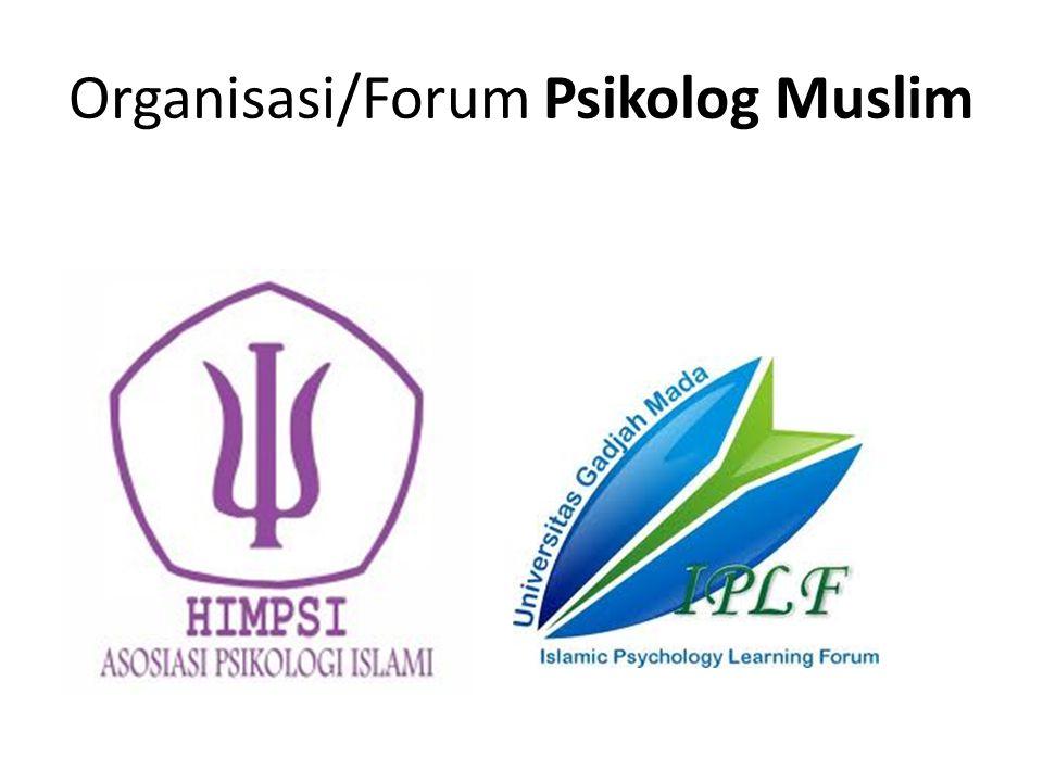 Organisasi/Forum Psikolog Muslim
