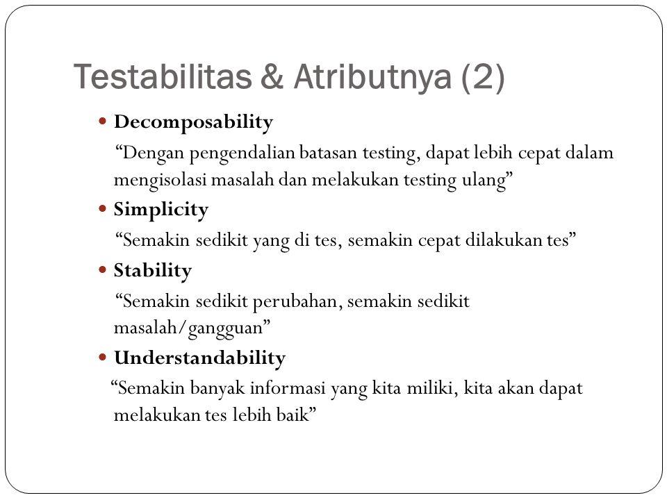 Testabilitas & Atributnya (2)