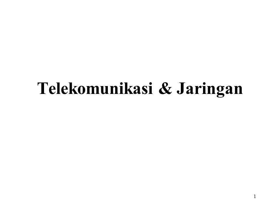 Telekomunikasi & Jaringan