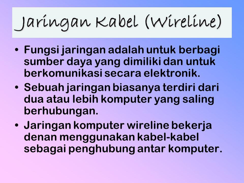 Jaringan Kabel (Wireline)