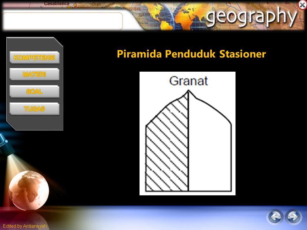Piramida Penduduk Stasioner