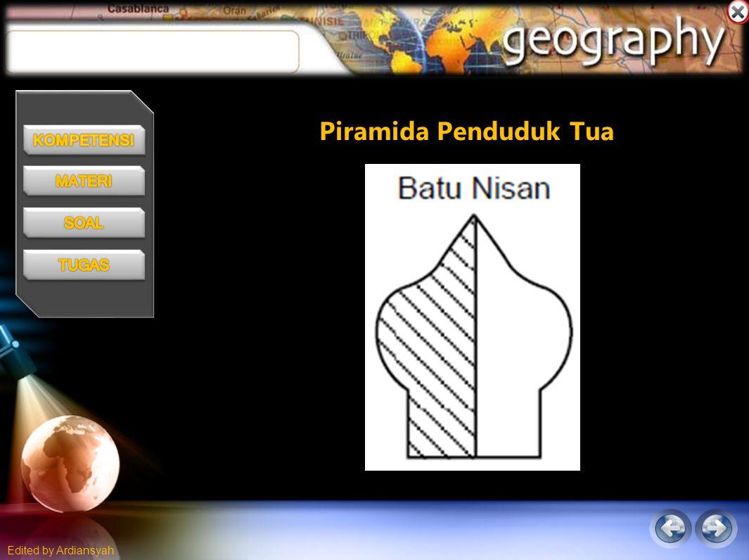 Piramida Penduduk Tua