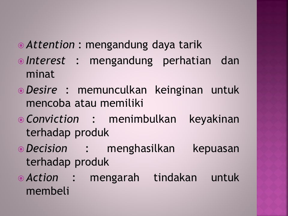 Attention : mengandung daya tarik