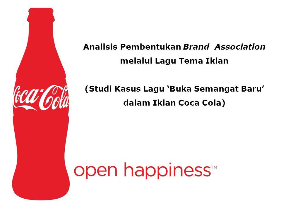 Analisis Pembentukan Brand Association melalui Lagu Tema Iklan