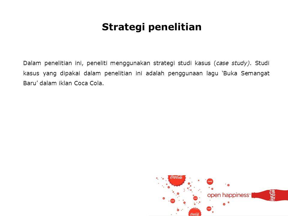 Strategi penelitian