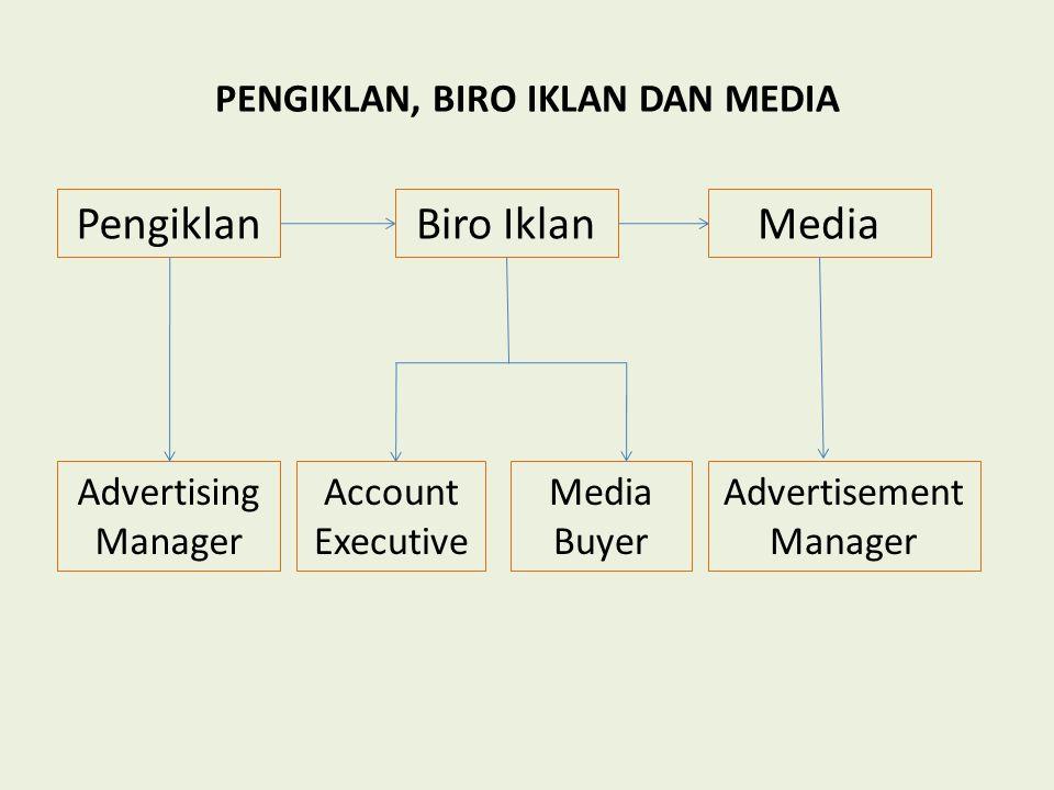 PENGIKLAN, BIRO IKLAN DAN MEDIA