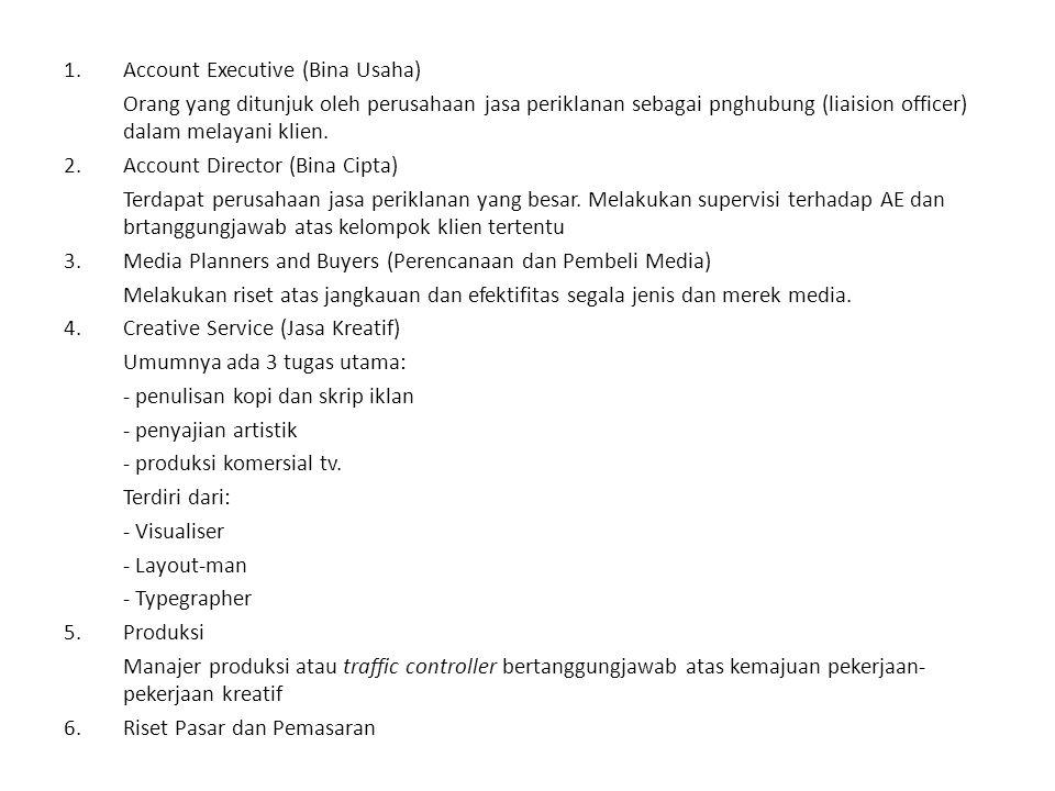Account Executive (Bina Usaha)