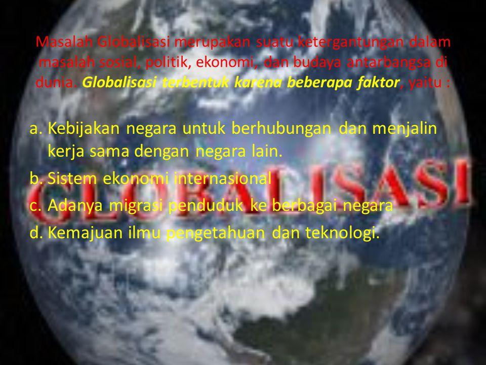 Sistem ekonomi internasional