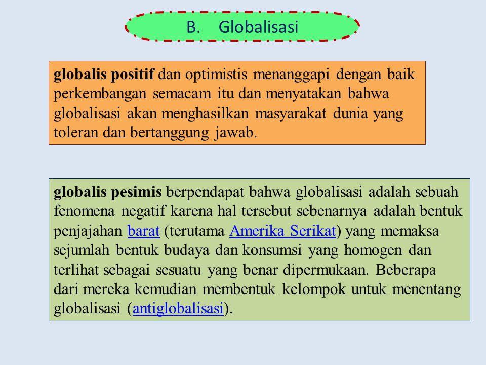 B. Globalisasi