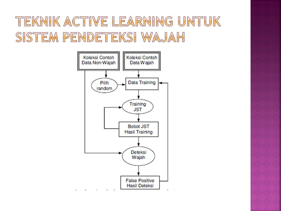 Teknik Active Learning untuk Sistem Pendeteksi Wajah