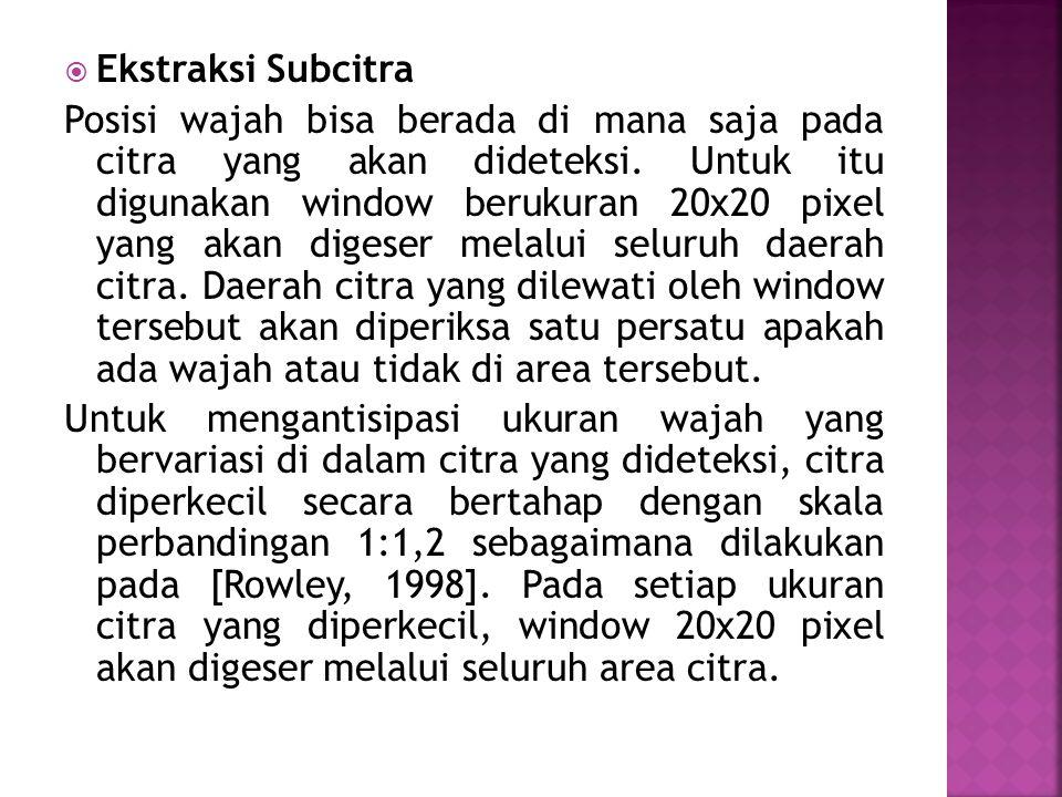 Ekstraksi Subcitra