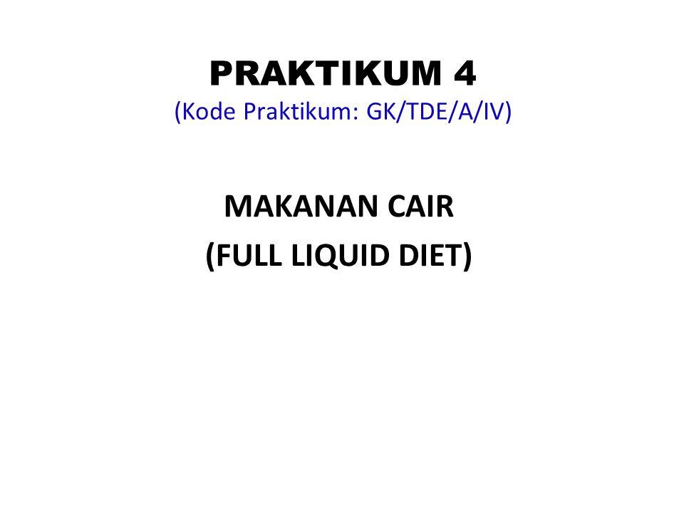 PRAKTIKUM 4 (Kode Praktikum: GK/TDE/A/IV)