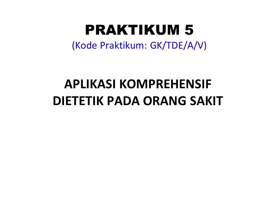 PRAKTIKUM 5 (Kode Praktikum: GK/TDE/A/V)