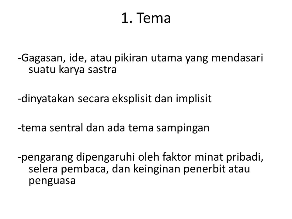 1. Tema
