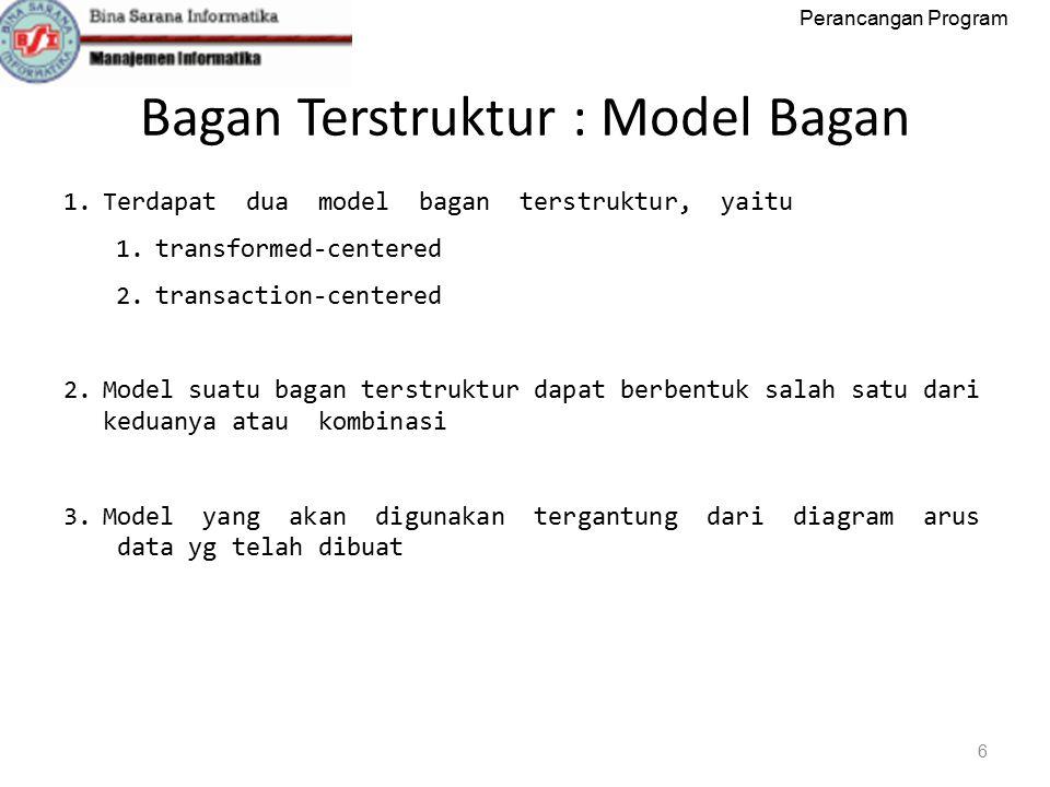 Bagan Terstruktur : Model Bagan