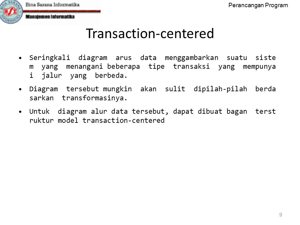 Transaction‐centered