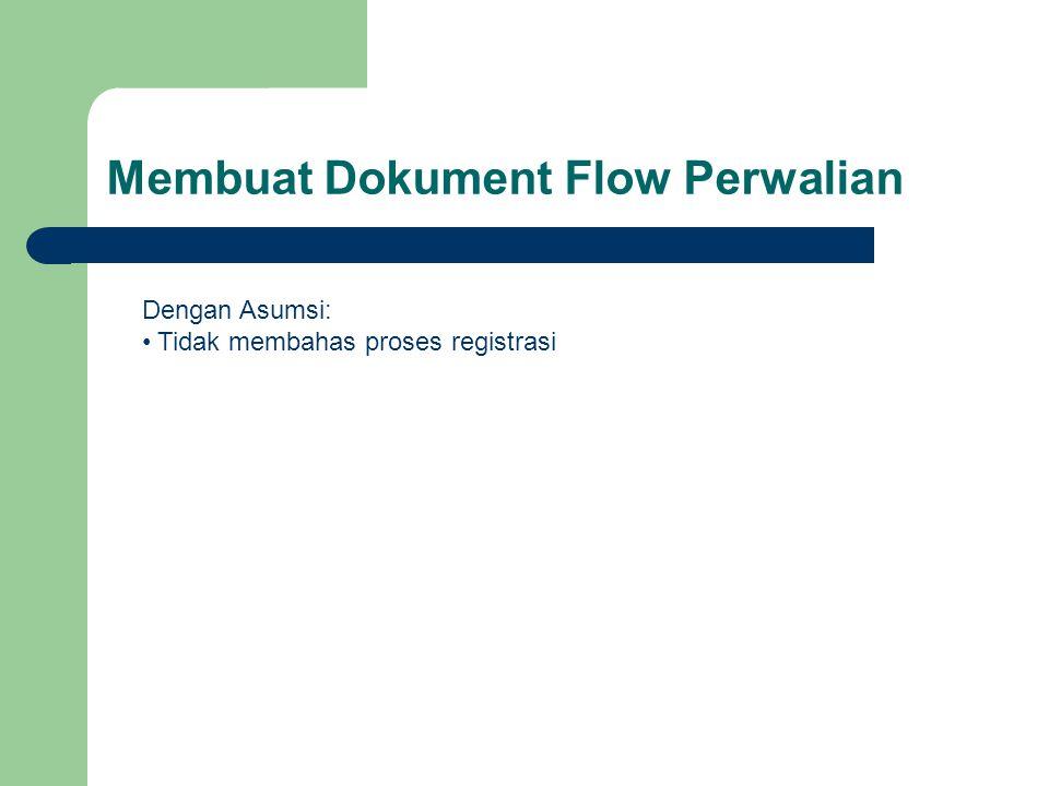 Membuat Dokument Flow Perwalian