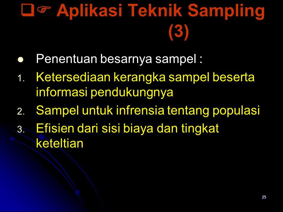  Aplikasi Teknik Sampling (3)