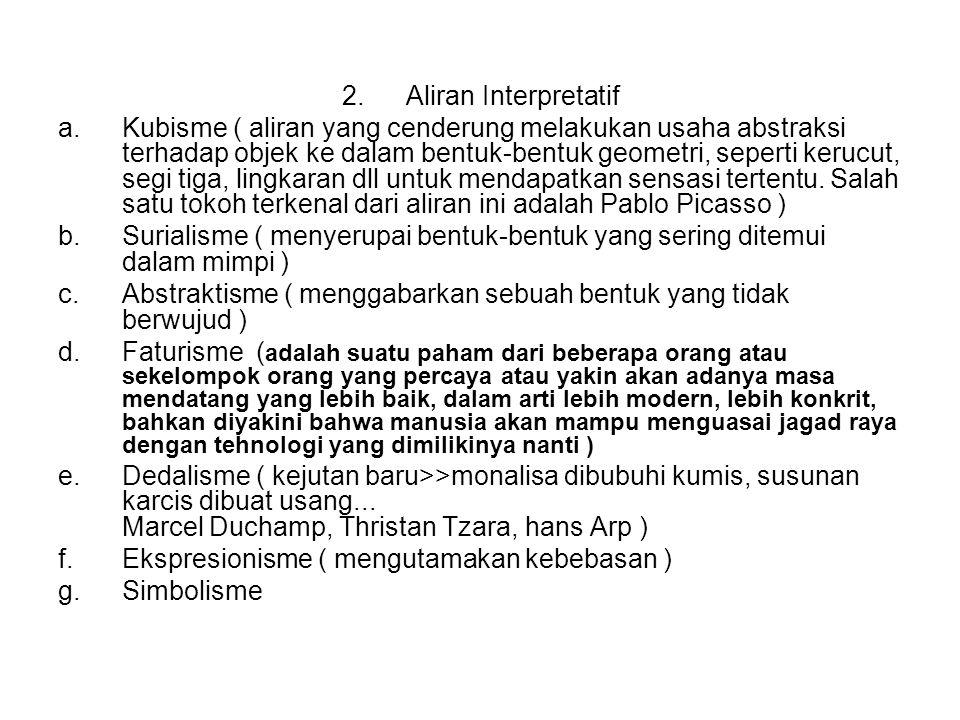 Aliran Interpretatif