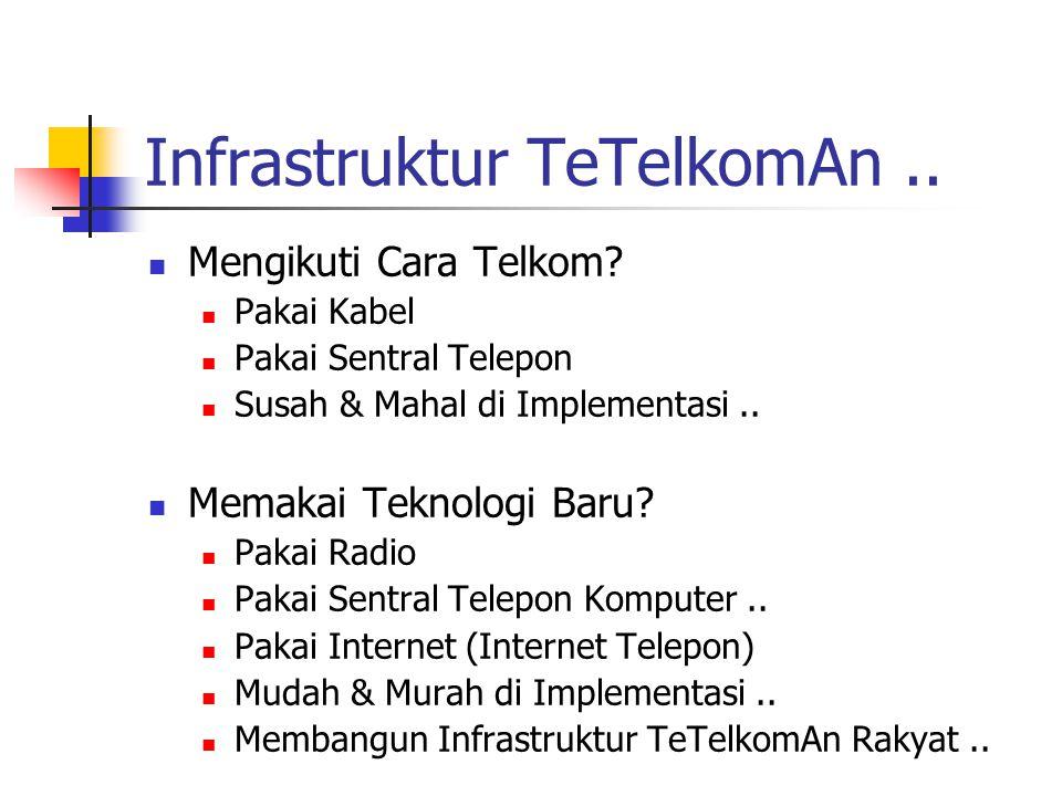 Infrastruktur TeTelkomAn ..