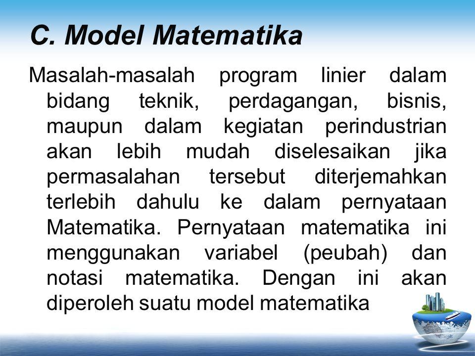 C. Model Matematika