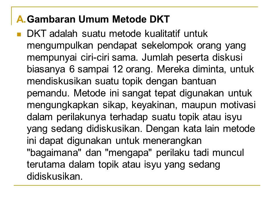 Gambaran Umum Metode DKT