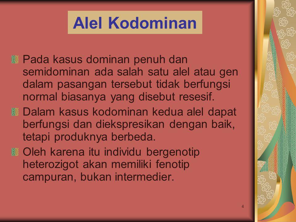 Alel Kodominan