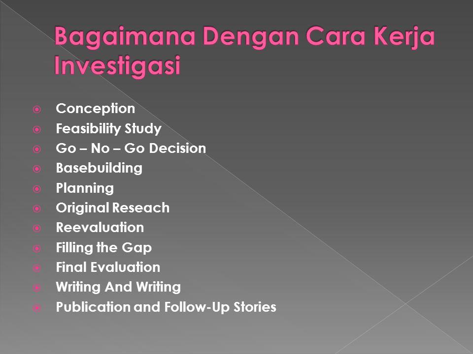 Bagaimana Dengan Cara Kerja Investigasi