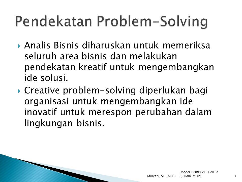 Pendekatan Problem-Solving