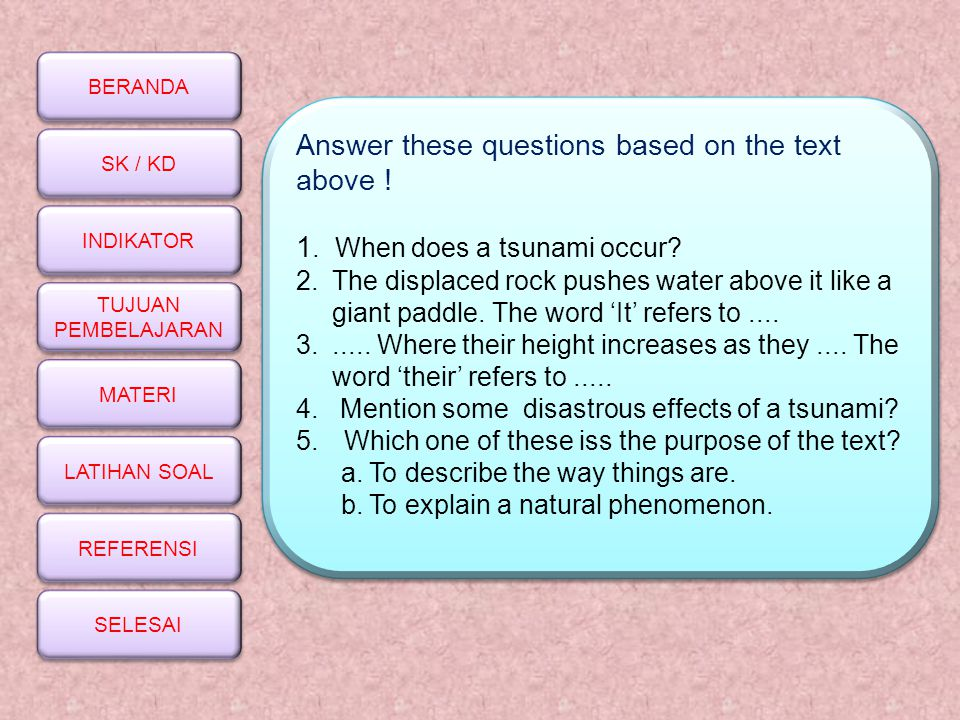Answer these questions based on the text above !