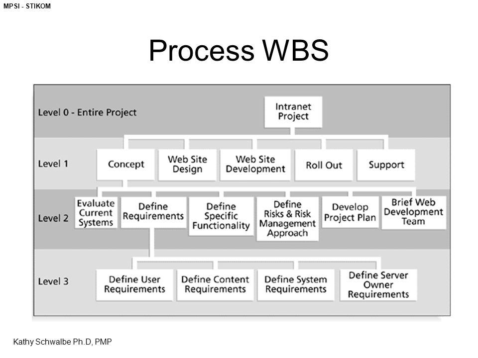 MPSI - STIKOM Process WBS Kathy Schwalbe Ph.D, PMP