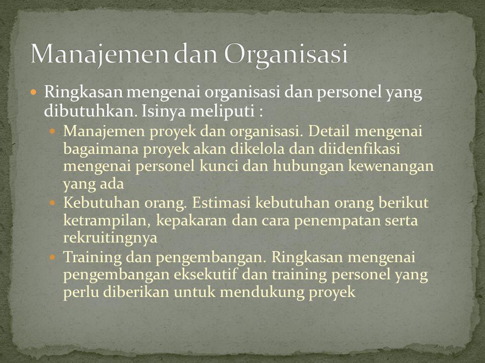 Manajemen dan Organisasi