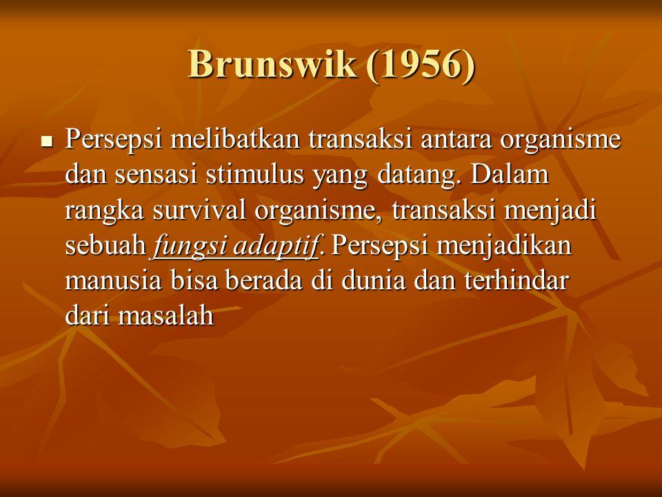 Brunswik (1956)